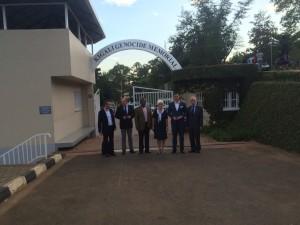 Pani Wicemarszalek; konsul honorowy RP w Rwandzie; prezes ŁARR